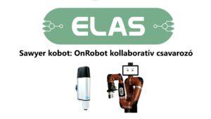OnRobot Screwdriver alkalmazás